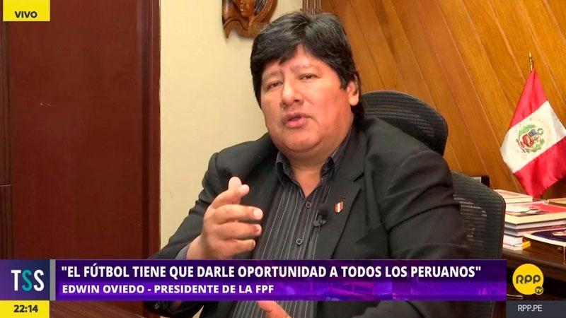 El presidente de la Federación comentó que se tiene que trabajar pensando en las divisiones menores para fortalecer el fútbol nacional.