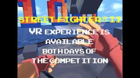 Así se juega en realidad virtual el Bonus Stage de Street Fighter II.