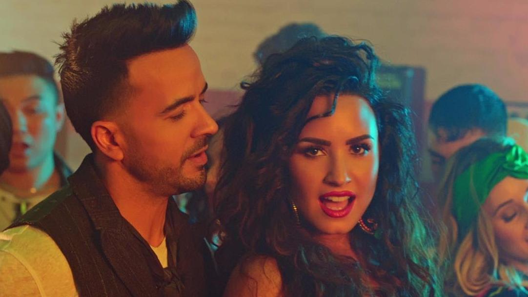 Luis Fonsi y Demi Lovato juntaron sus voces para ponerle ritmo a