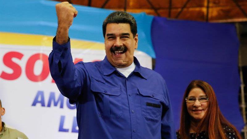 """Maduro deseó """"felicidad"""" al alcalde metropolitano de Caracas y pidió a España que no devuelva a su país a este político."""