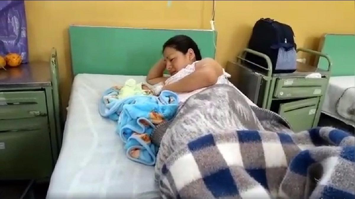 Verónica Huapcha dijo que a su bebé Jefferson Paolo le darán de alta en los próximos días.