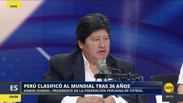 Revive lo mejor de la entrevista a Edwin Oviedo en RPP Noticias.