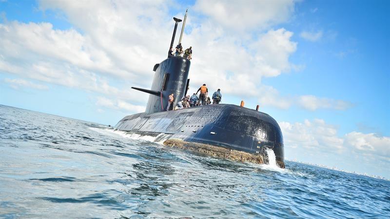 El submarino ARA San Juan desapareció con 44 tripulantes a bordo.