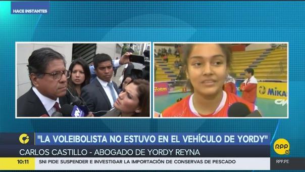 El abogado dijo que el futbolista Yordy Reyna lamenta lo ocurrido.