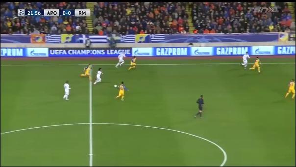 APOEL 0-6 Real Madrid.
