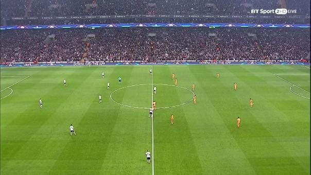 El equipo turco Besiktas no pasó del 1-1 con Porto.