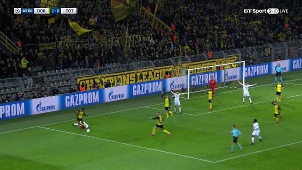 Borussia Dortmund 1-2 Tottenham