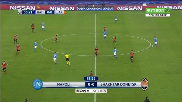 Nápoli 3-0 Shakhtar Donetsk.