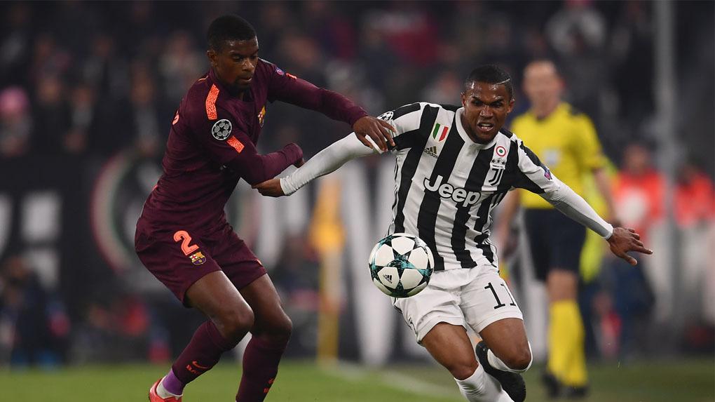 Juventus y Barcelona empataron sin goles en Turín.