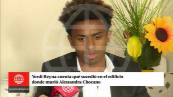 Yordy Reyna declaró en la Divincri Miraflores sobre la muerte de la voleibolista Alessandra Chocano.