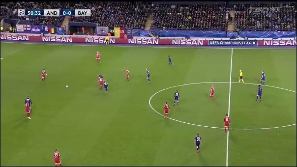 Anderlecht 1-2 Bayern Munich.