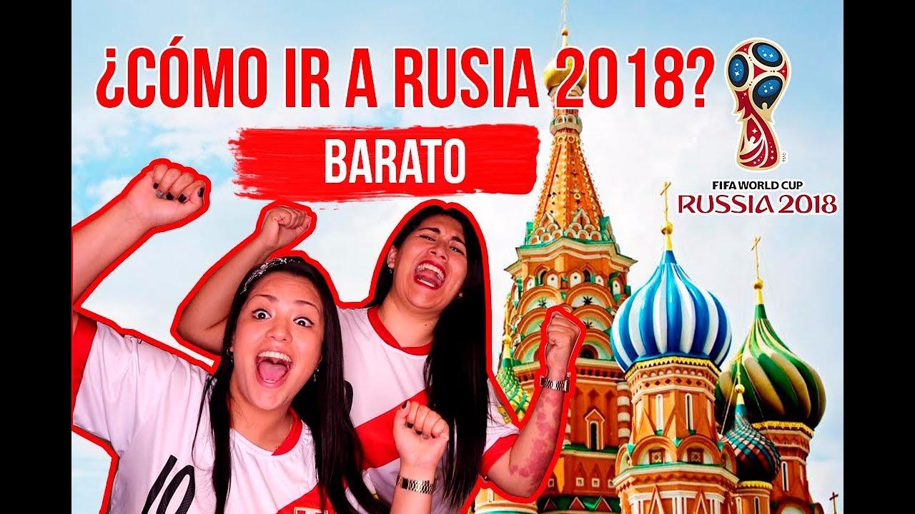 Este canal de YouTube presenta la forma más económica para viajar al Mundial Rusia 2018.