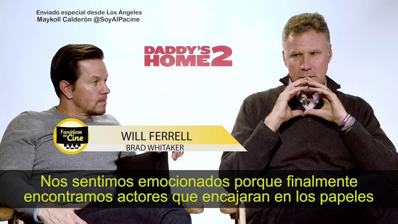 Mark Wahlberg y Will Ferrell hablan de Perú