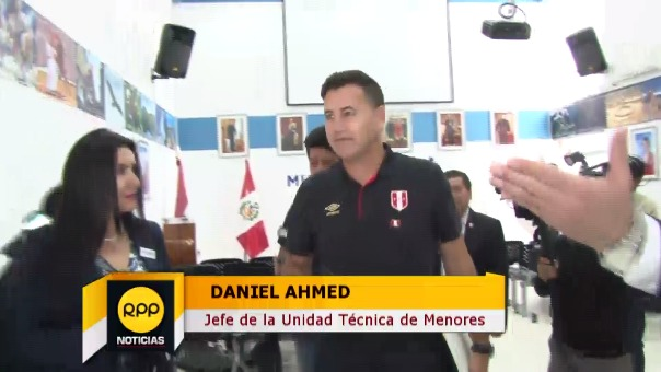 Daniel Ahmed llegó al Perú para dirigir a la Sub 18 y Sub 20.