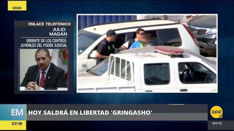 Julio Magán apuntó que 'Gringasho' no tiene pendiente el pago de reparación civil.