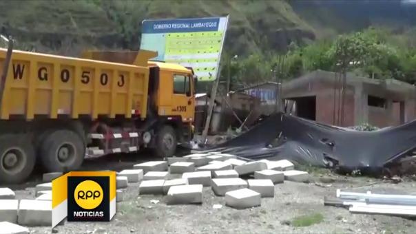 Abandonan obra de colegio inicial en caserío Tute de Kañaris.