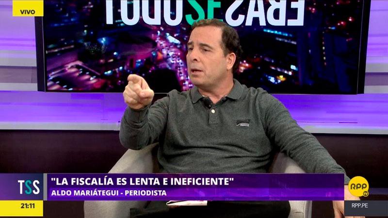 El periodista recordó que él fue uno de los primeros en denunciar la intromisión de Brasil en los procesos electorales peruanos.