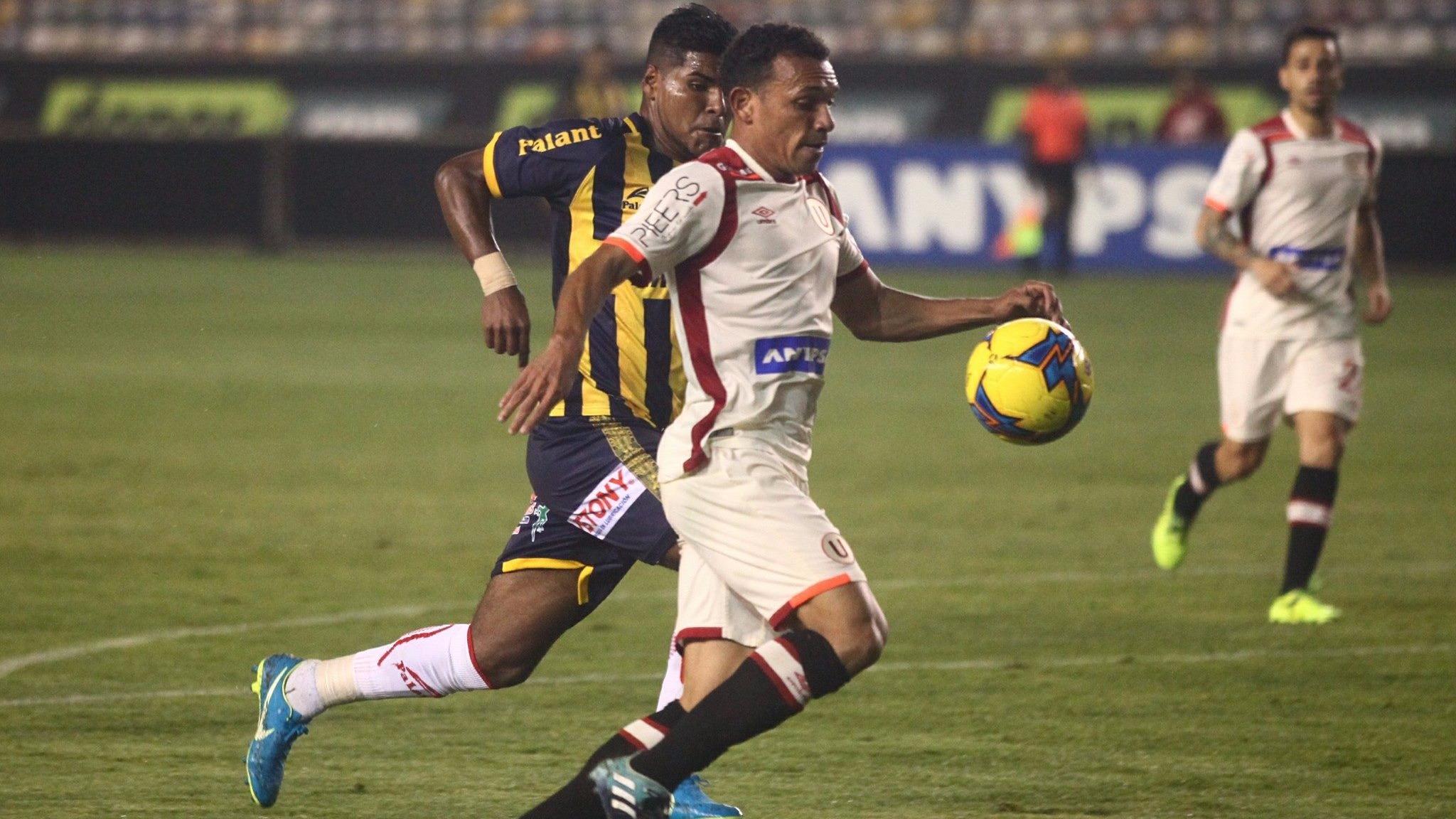 Figuera llegó a préstamo a la 'U' por una temporada procedente de Deportivo La Guaira de Venezuela.