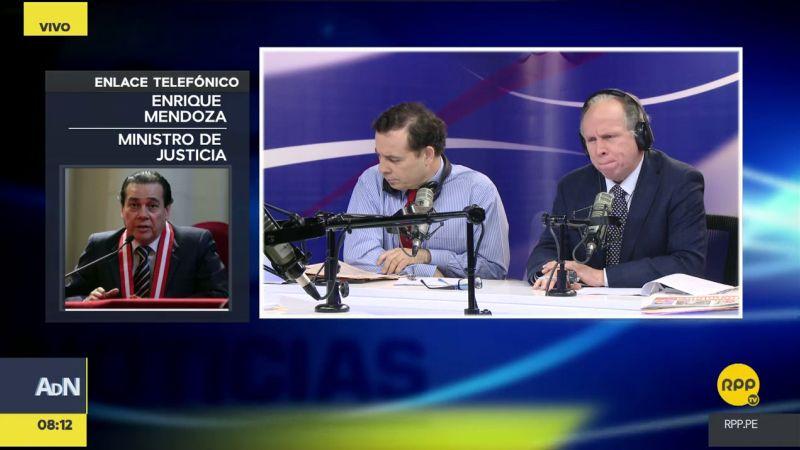 Enrique Mendoza estuvo esta mañana en Ampliación de Noticias.