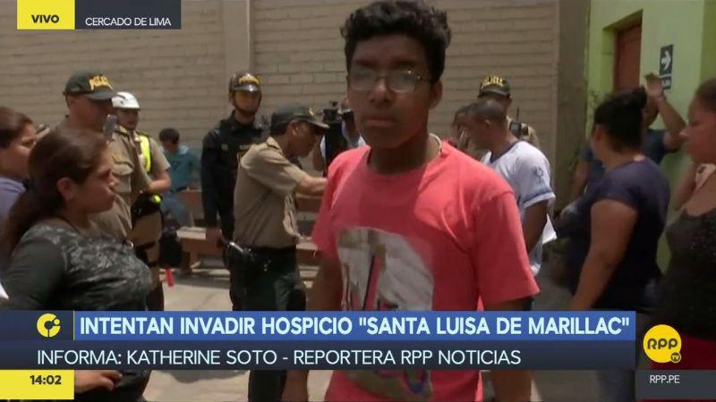 Desconocidos intentaron tomar posesión del local, ubicado en la cuadra 5 del jirón Huánuco.