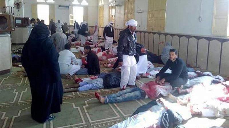 El Gobierno egipcio decretó duelo nacional de tres días por las víctimas del ataque.
