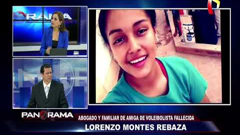 Esta es la entrevista completa que dio el abogado de la amiga de Alessandra Chocano.