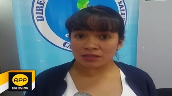 Sonia Lopez responsable de la vacunación.