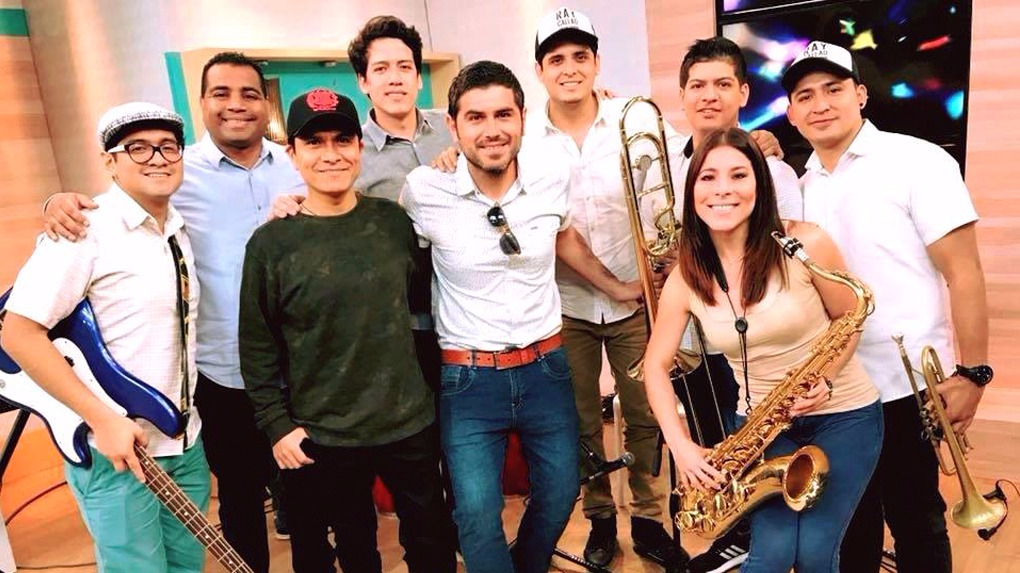 La banda Ray Callao se formó en el año 2008.