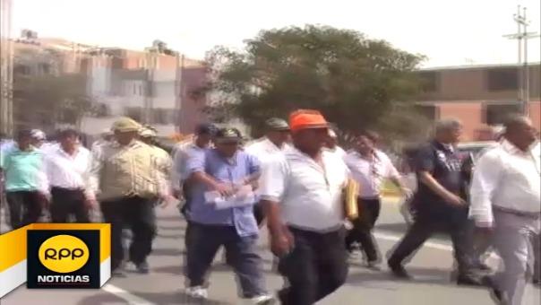 Campesinos y productores de arroz salieron a las calles
