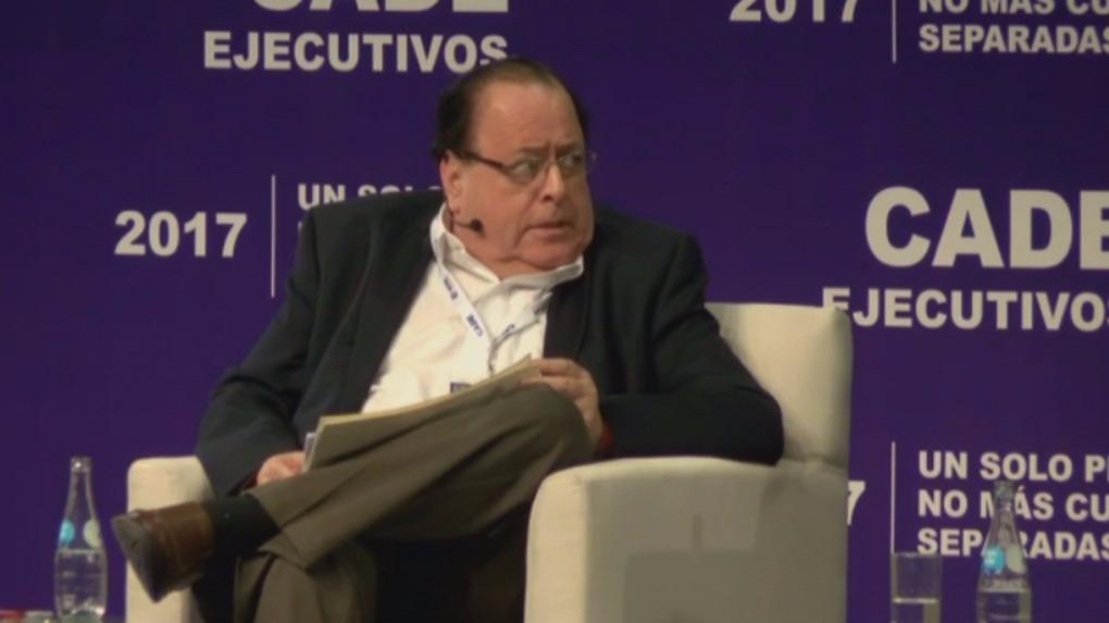 Julio Velarde, presidente del Banco Central de Reserva expuso la ponencia