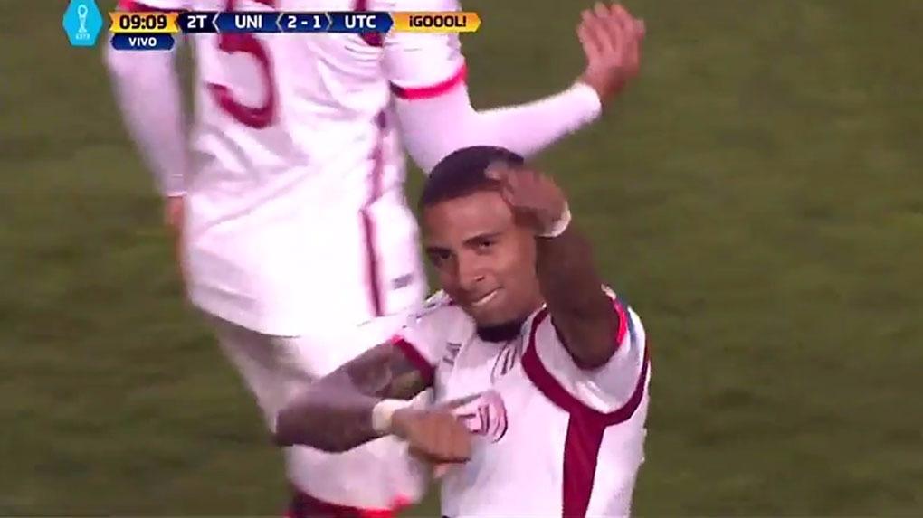 Alexi Gómez marcó su gol número 11 en la temporada.