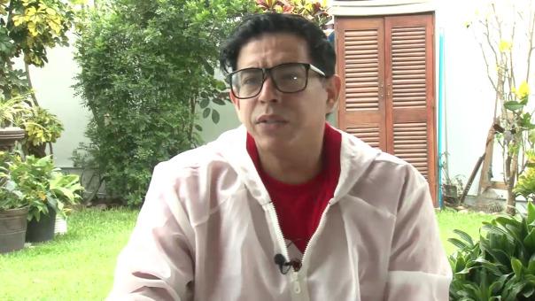 Ernesto Pimentel convive con la enfermedad desde hace 26 años. Él se ha convertido en un vocero de la lucha contra el VIH/Sida.