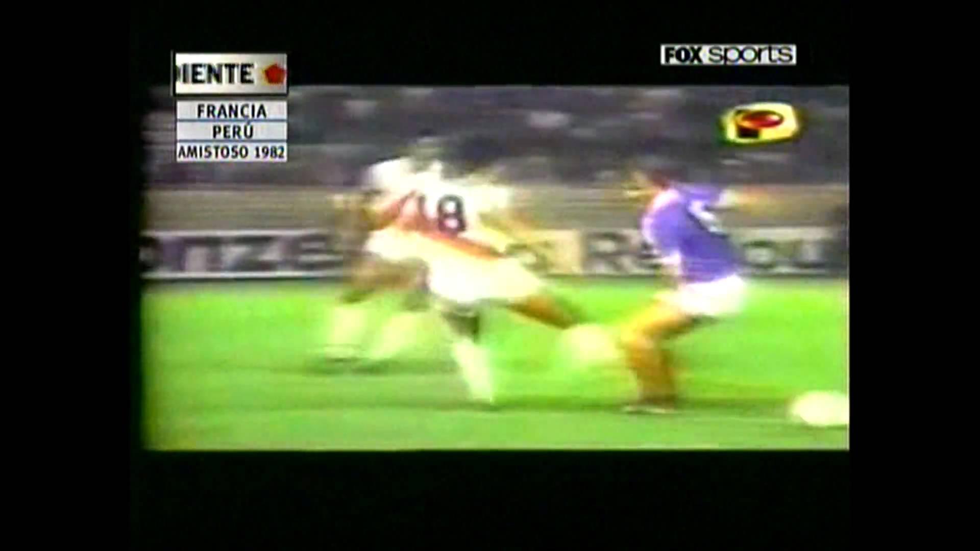 El único partido entre Perú y Francia que se ha disputado hasta ahora fue un amistoso. Triunfo de Perú con golazo de Juan Carlos Oblitas.