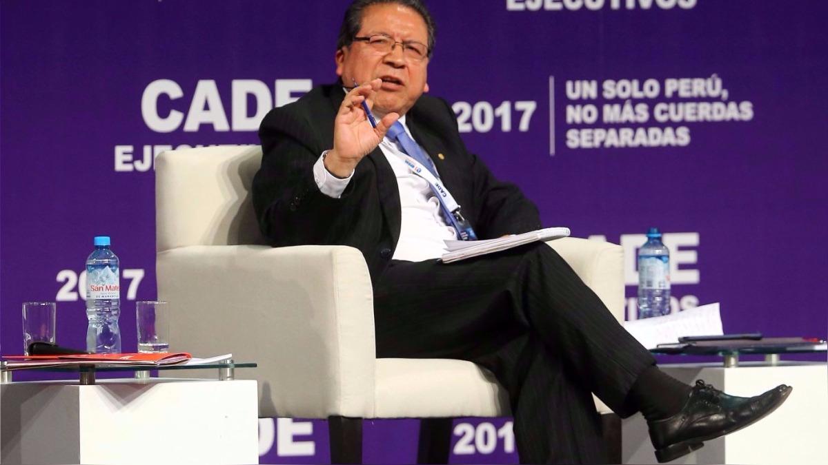 Pablo Sánchez es fiscal de la Nación desde noviembre de 2014, cuando reemplazó a Carlos Ramos Heredia.