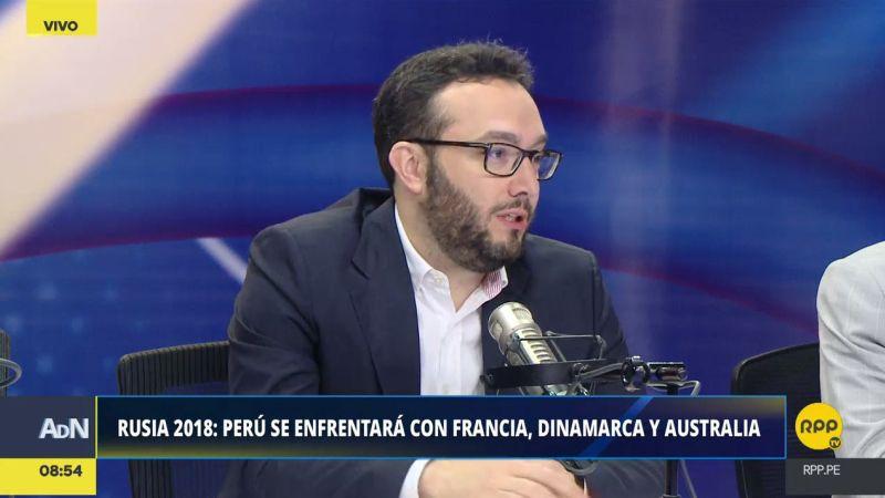 """Mathieu Perrot calificó de """"muy reñido"""" el Grupo C del Mundial, integrado por Francia, Dinamarca, Australia y Perú."""