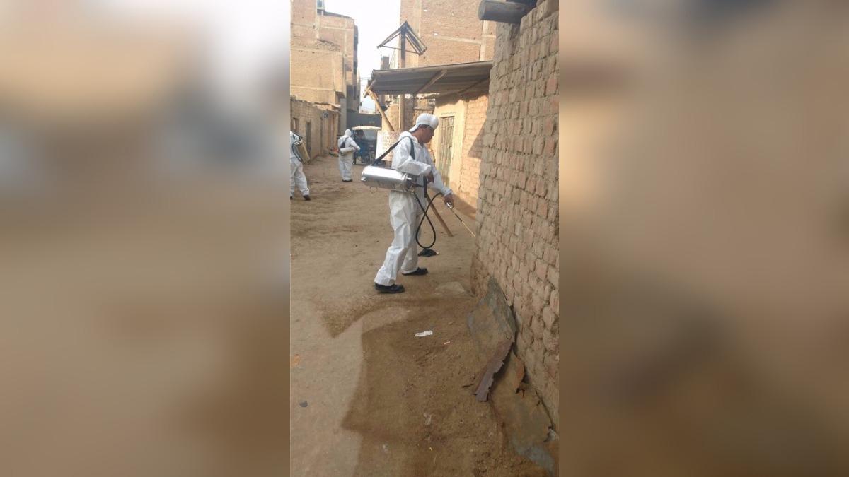 Son 700 casas las que son intervenidas contra la peste bubónica.