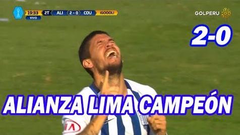 Revisa el resumen del Alianza Lima 2-0 Comerciantes Unidos en Matute.
