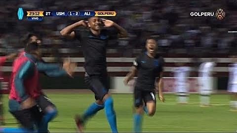 Revive el gol de cabeza de Aldair Fuentes a la Universidad San Martín.