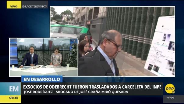 José Rodríguez dijo que el pedido de prisión preventiva tiene tintes políticos.
