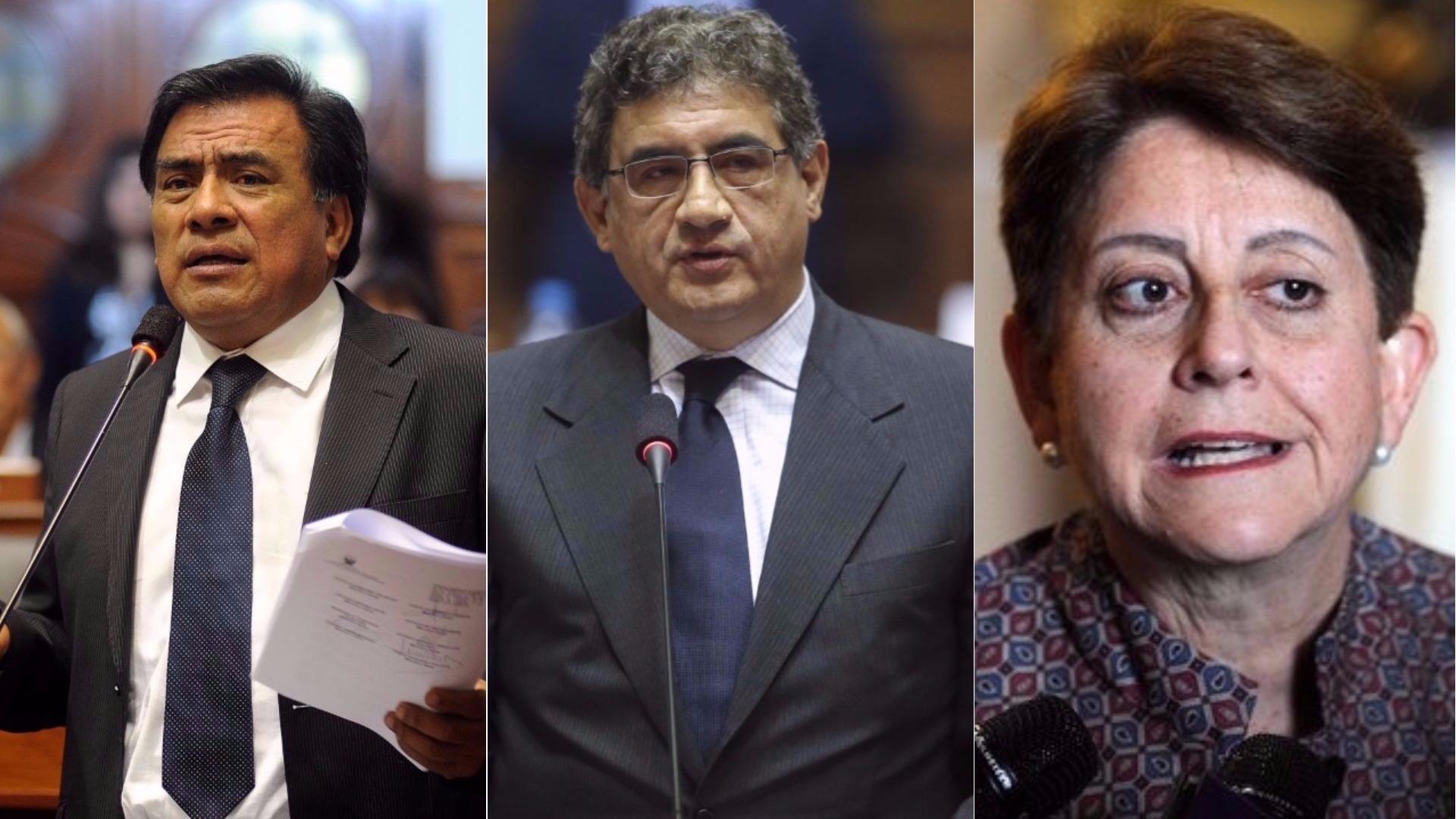 Javier Velásquez Quesquén, Juan Sheput y Lourdes Alcorta comentaron la decisión del juez Richard Concepción de dar prisión preventiva a cuatro empresarios.