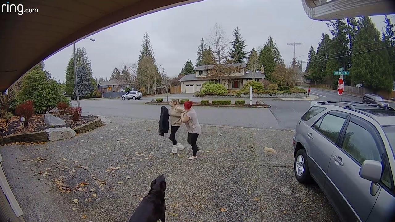 La niñera sometió a la delincuente hasta que llegó la Policía.