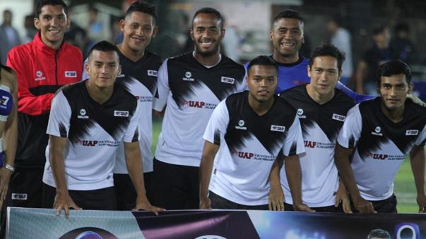 El equipo Amigos Moche.