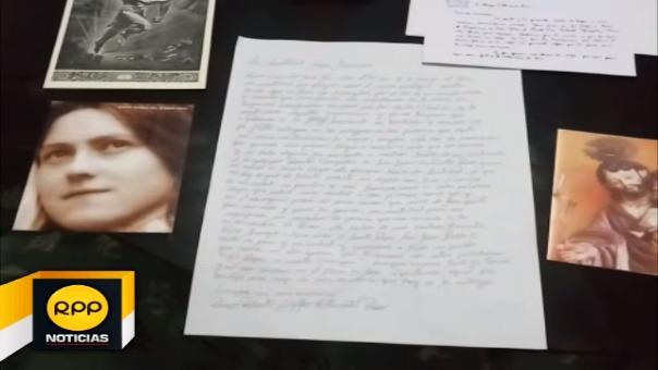 Roberto Villacorta Ríos de 20 años, tuvo la oportunidad de hacerle llegar una carta y un obsequio al Santo Padre, nunca pensó que recibiría la respuesta desde el Vaticano.