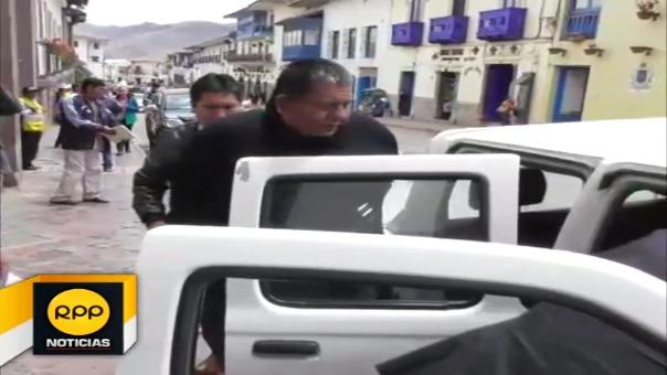 Presidente de la Corte Superior de Justicia de Cusco, aclaró el caso y dijo que el hombre que intentó usurpar su cargo fue denunciado por el delito de Tráfico de Influencias.