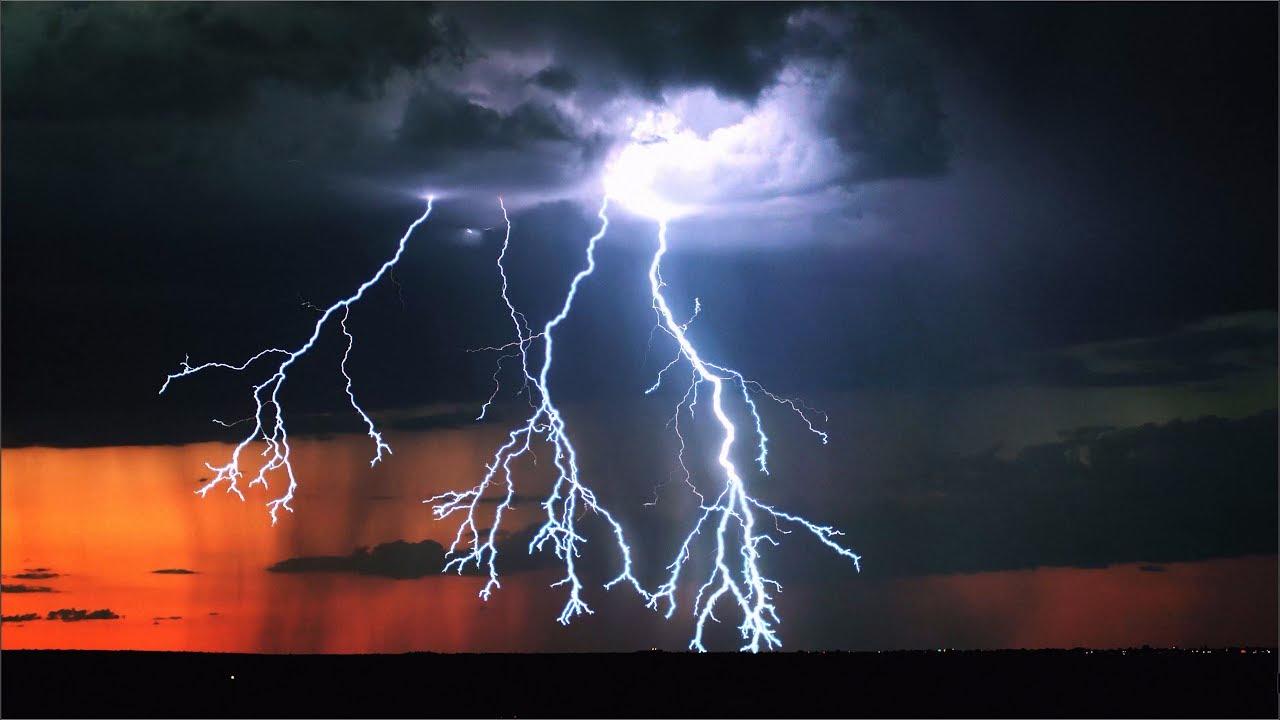 Este podría ser el mejor video de rayos y tormentas que se haya ...