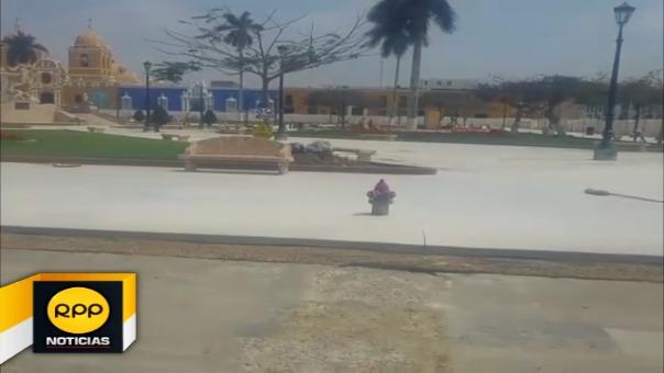 Ciudadanos esperan que la obra se concrete antes de la visita del Papa Francisco programada para el 20 de enero próximo.