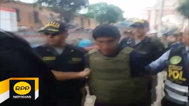 El viceministro de Orden Interno, Rubén Vargas, dijo que se capturó a mandos militares que participaron en las emboscadas a patrullas policiales este año.