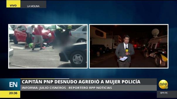 Carlos Suta Vela fue llevado al complejo policial de la avenida Aramburú para ser sometido a las pruebas de dosaje etílico y examen toxicológico.
