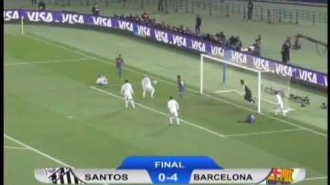 Final del Mundial de Clubes 2011: Santos 0-4 Barcelona