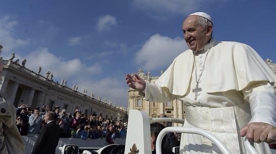 El papa Francisco envío un mensaje en vísperas de la Navidad.